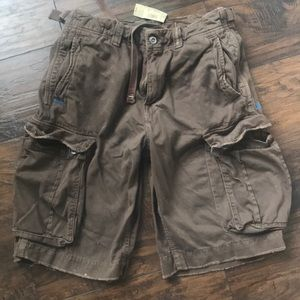 NWT: American Eagle Men's Cargo Shorts Brown